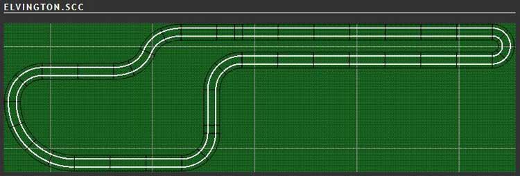 Scalextric Track Plan - Elvington