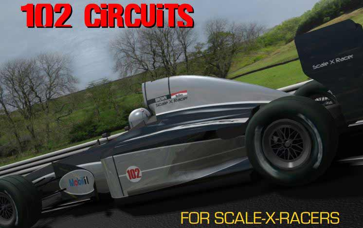 102 Circuits for Scale X Racers