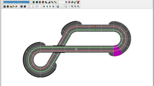 Carrera Track Layout Planner