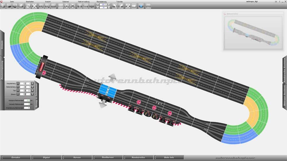 Carrera Track Planner