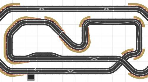 Scalextric Track Plan