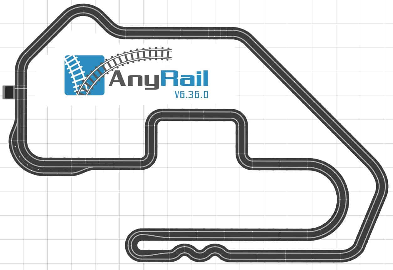 AnyRail Scalextric Design Software
