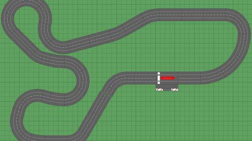 1/32 Slot Car Track Plans