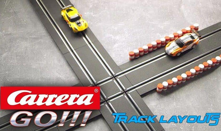 Carrera Go Track Layouts
