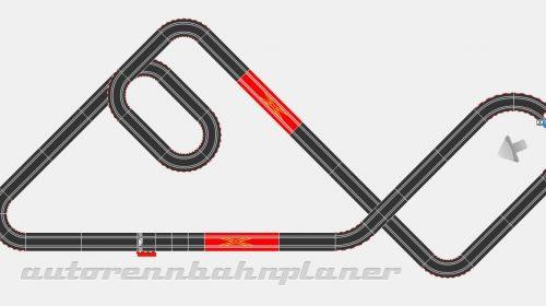Carrera Digital 143 Layout