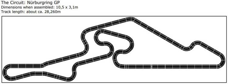 Carrera Digital 132 Tracks - Nurburgring GP