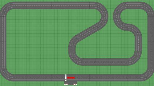 Carrera Slot Car Track Luanda 8x14