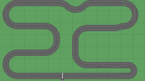 STP Track 1 - 7x12 Scalextric Digital Track