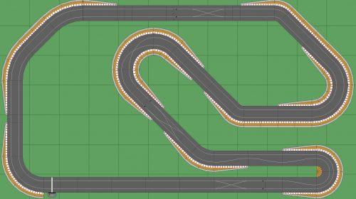 STP Track 2 - 7x12 Scalextric Digital Track