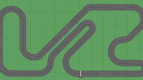 STP Track 3 - 7x13 Scalextric Digital Track
