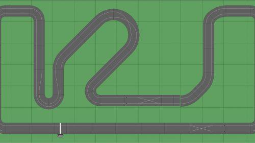 STP Track 5 - 7x13 Scalextric Digital Track