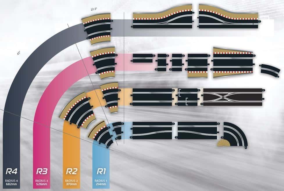Scalextric Track Pieces