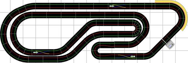 Scalextric Track Layouts Ultimate Racer