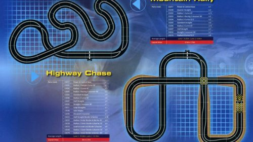 Slot Car Track Plans