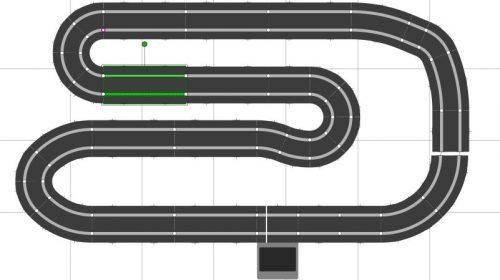 scalextric sport track