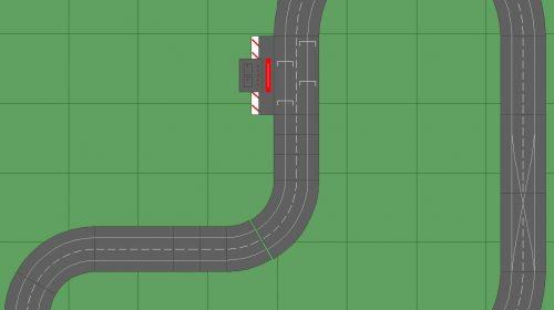 Carrera slot car layouts