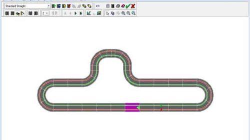 Slotman Slot Car Track Designer