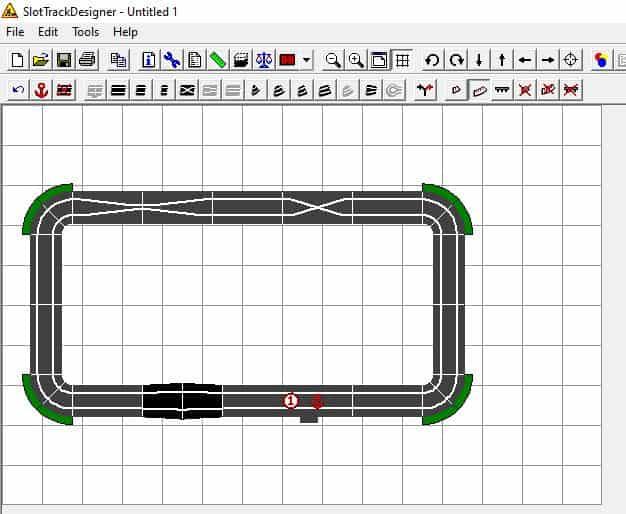 Slot Car Track Planner