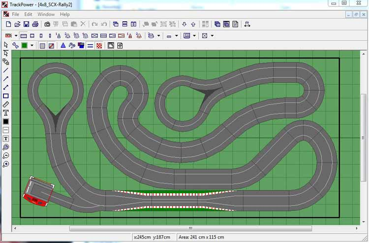 Tracker 2000 Slot Car Track Design Software Slot Track Pros