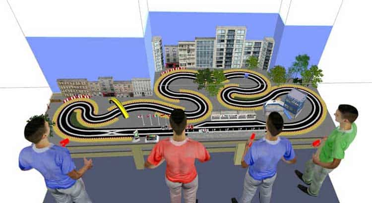 Ultimate Racer 3D Slot Car Track