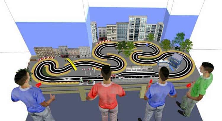 Ultimate Racer 3D Slot Car Track