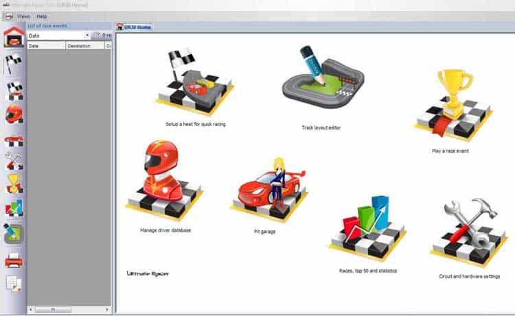 Ultimate Racer Slot Track Designer