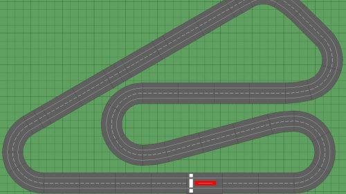 Slot Car Track Plan