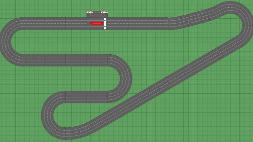 Digital 132 Slot Car Track