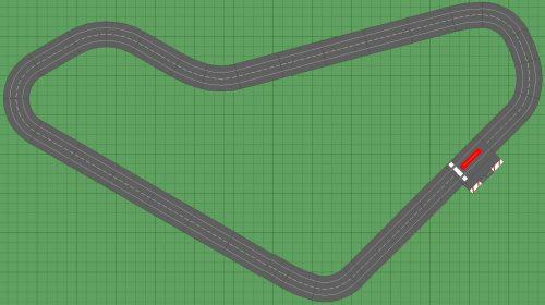 Carrera Slot Car Track Winfield 8x14